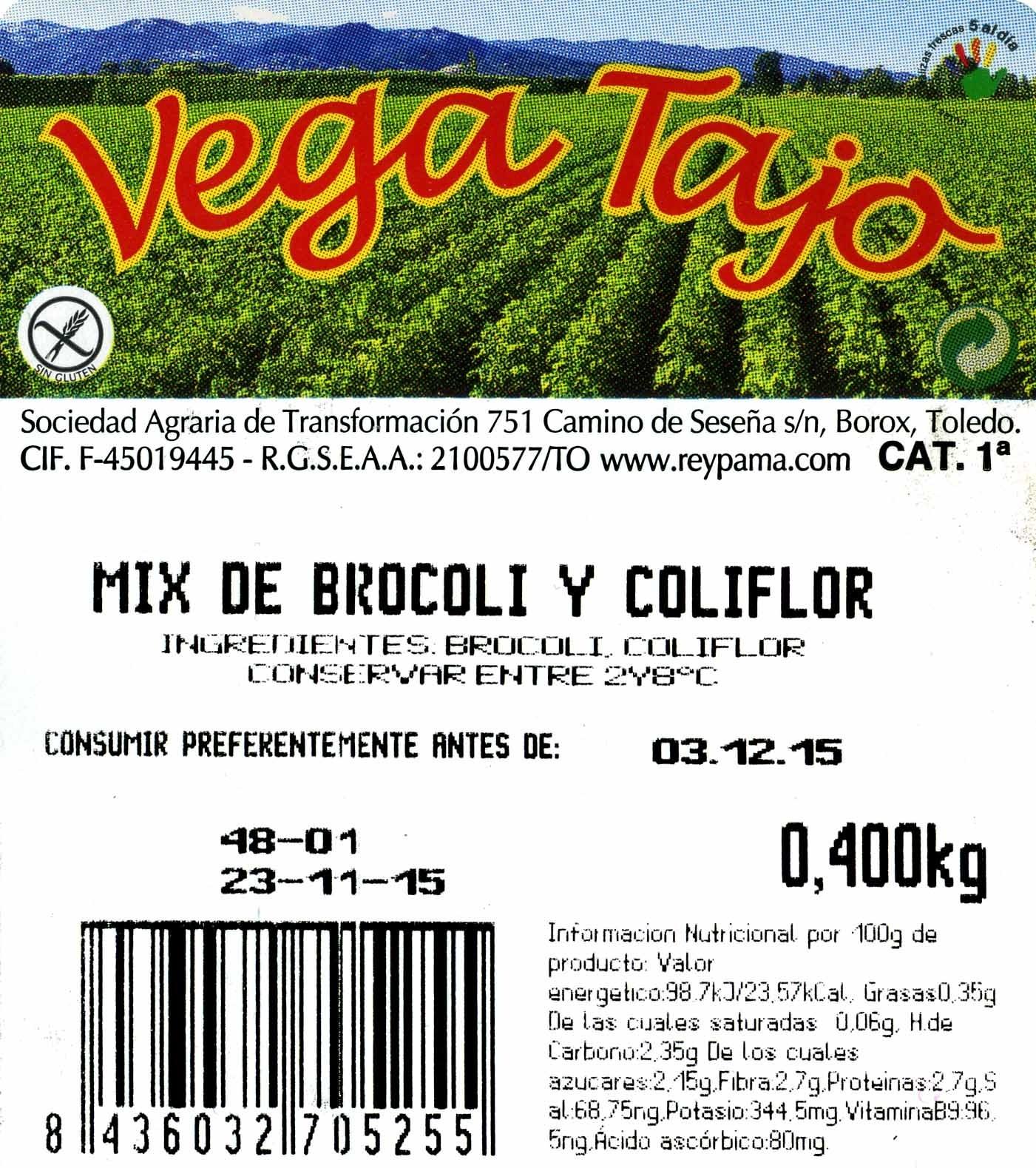 Brocoli - Ingredientes