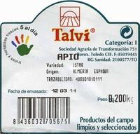 Apio - Ingredients - es