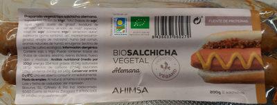 Biosalchicha vegetal Alemana - Producto - es