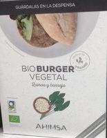 Bio burger vegetal quinoa y borraja - Producte - es