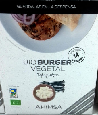 Bio burguer vegetal - Producto - es