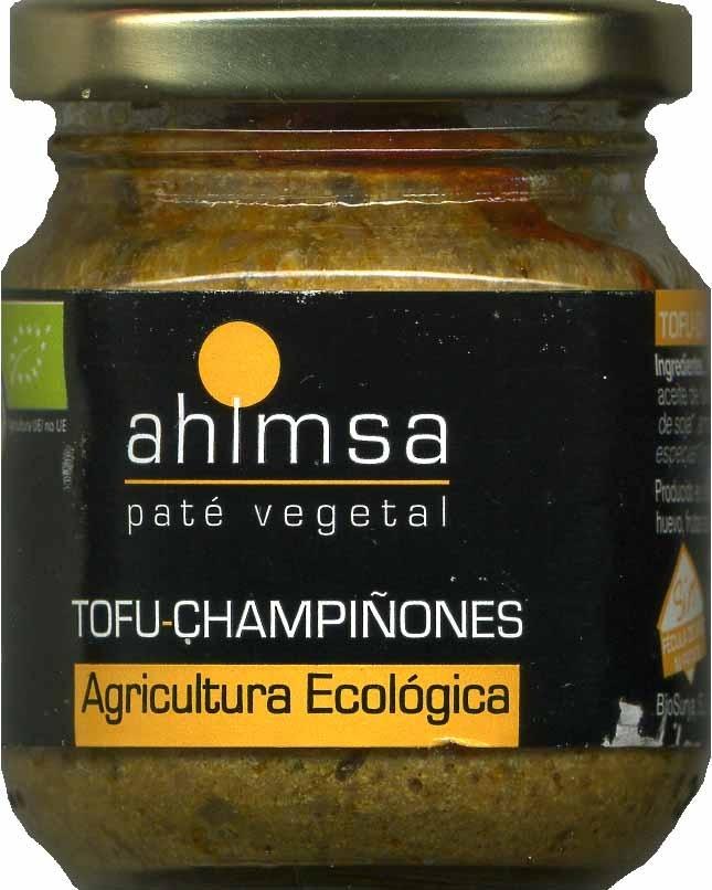 Paté vegetal con tofu y champiñones - Produit