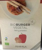 Bio Burger Vegetal Setas y pimientos - Produit