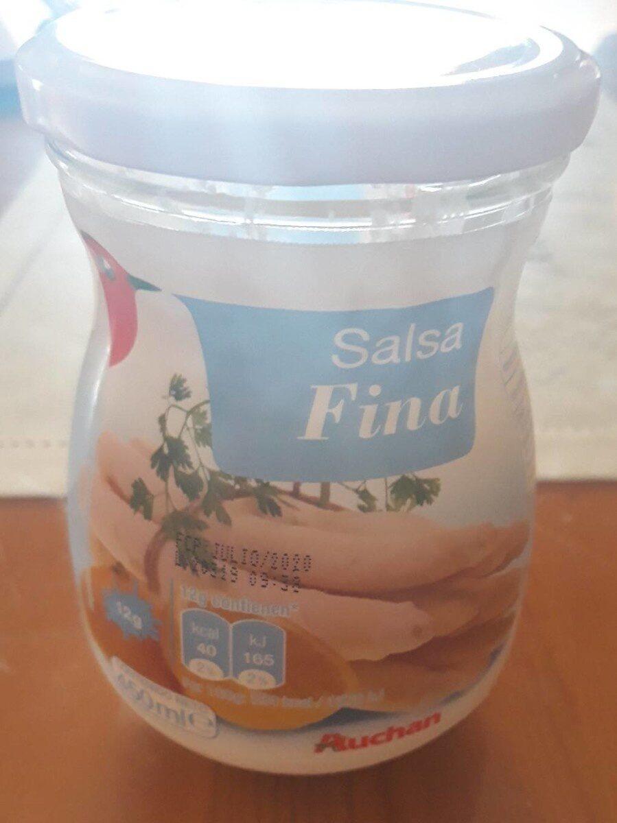 Salsa fina - Product - es