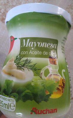 Mayonesa con aceite de oliva