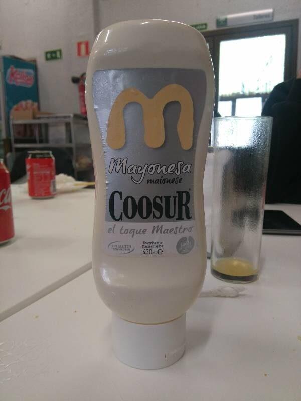 Mayonesa - Producte