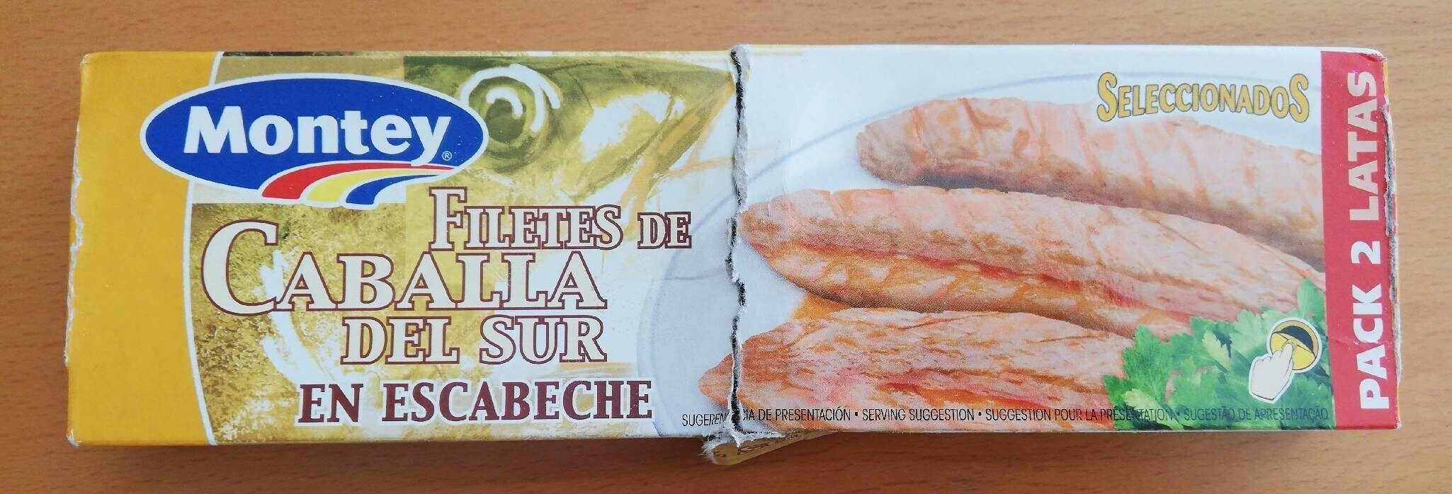 FILETES DE CABALLA DEL SUR EN ESCABECHE - Product - en