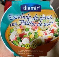 Ensalada de arroz con palitos de mar - Producto