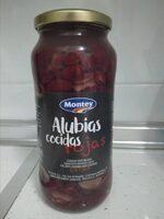 Alubias cocidas rojas - Producto