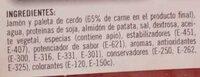 filete de lacón a la gallega - Ingredients - es
