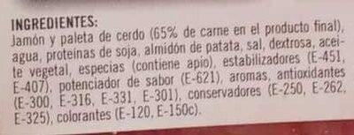 filete de lacón a la gallega - Ingredientes - es