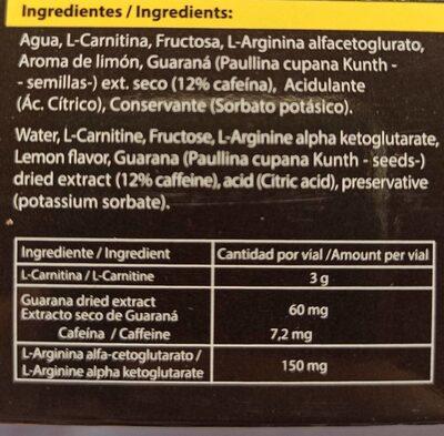 L-carnitine - Nährwertangaben