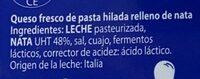 Burrata - Ingredients