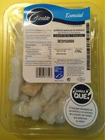 Bacalao desmigado curado en sal y desalado - Producto