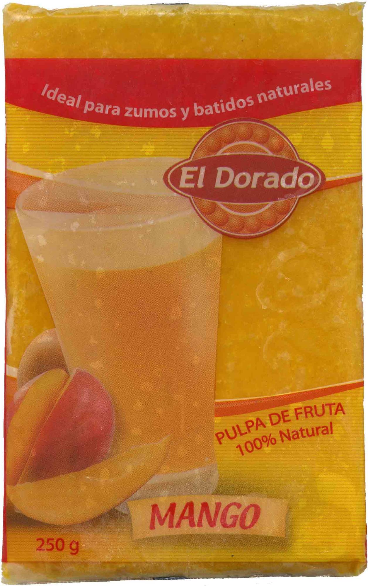 Pulpa de mango congelada - Producto - es