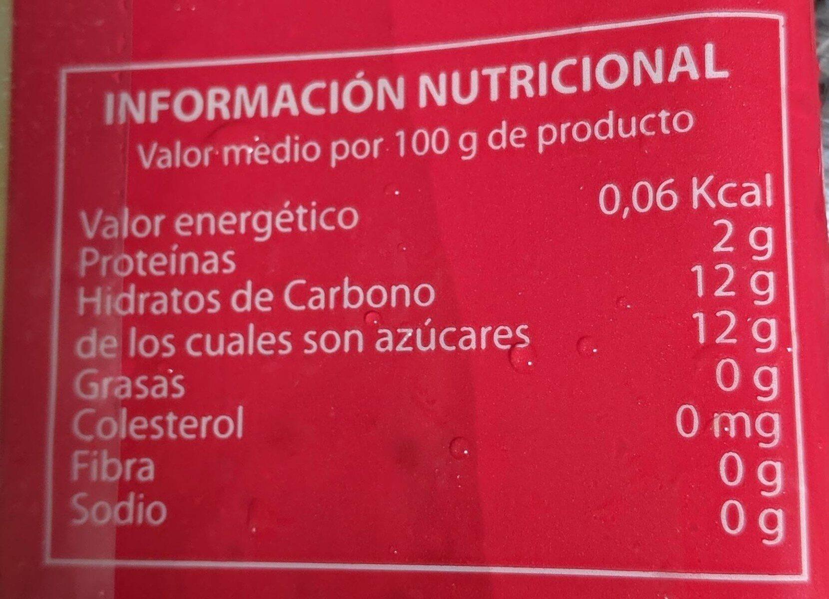 Pulpa de maracuyá - Valori nutrizionali - es