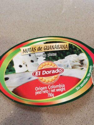 Motas de Guanabana - Prodotto - es