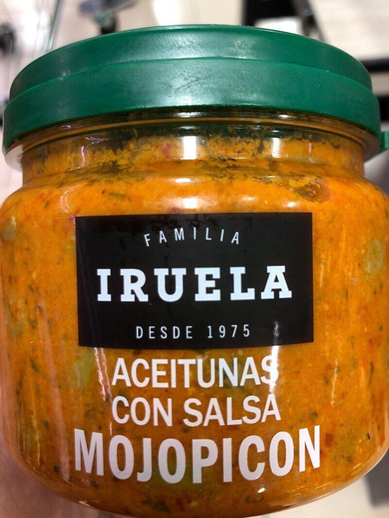 Aceitunas con salsa mojopicón - Product