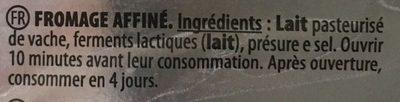 Miraflores - Ingredients - fr