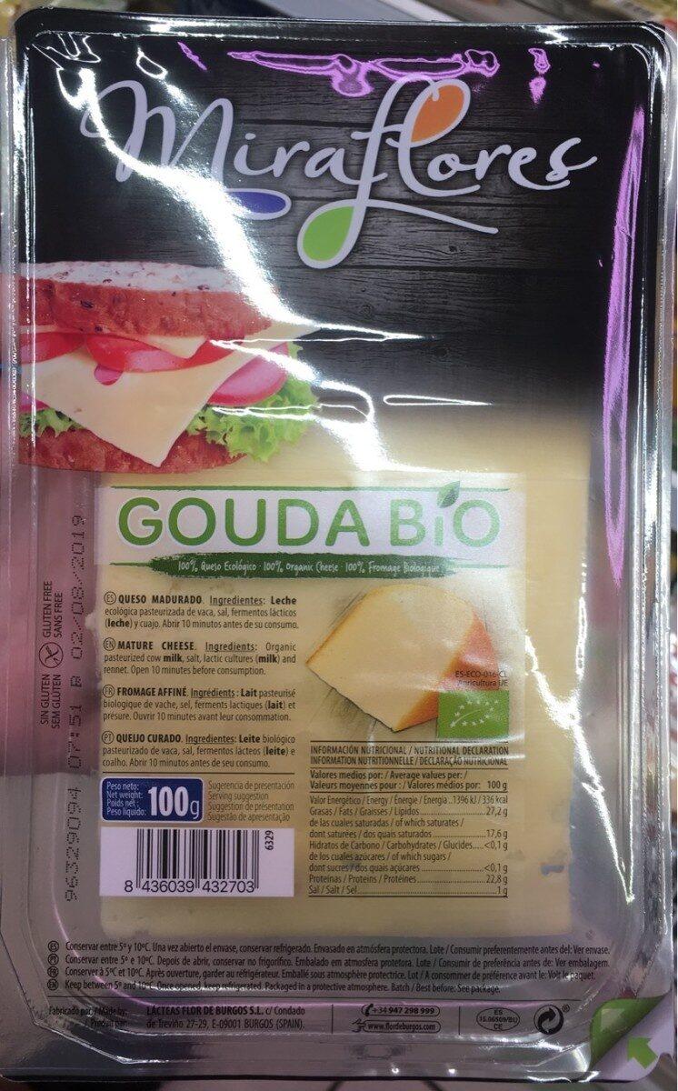 Gouda bio - Produit