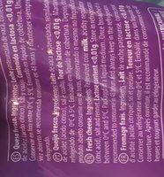 Mozzarella Fresca De Vaca Sense Lactosa 125 GR. - Ingredients - fr