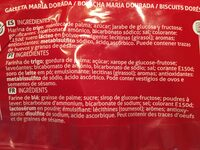 Biscuit Maria - Ingrediënten