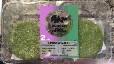 Burger pavo / Espinaca - Product