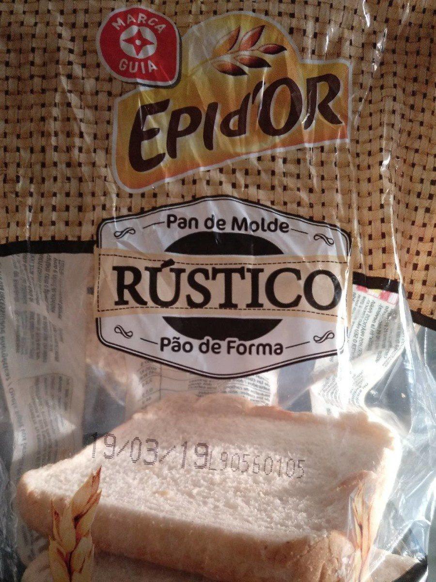 Pão rústico - Produit - fr