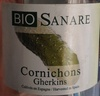 Cornichons - Producto