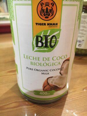 Leche coco biologoca - Product - es