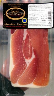 Jambon Serrano - Producto