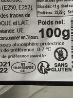 Chiffonade - Instruction de recyclage et/ou informations d'emballage - fr