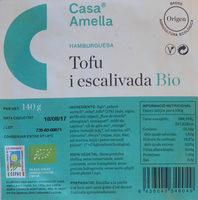 Hamburguesa tofu i escalivada - Produit