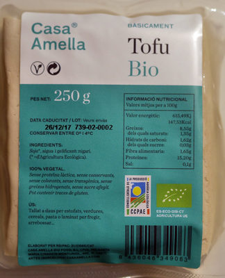 Tofu Bio - Producto