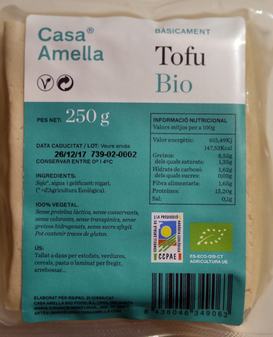Tofu bio - Produit - ca