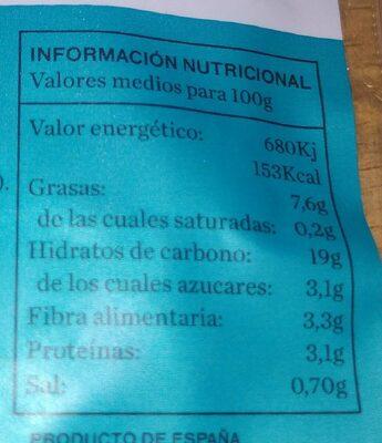 Hamburguesas de quinoa con calabaza - Informations nutritionnelles - es