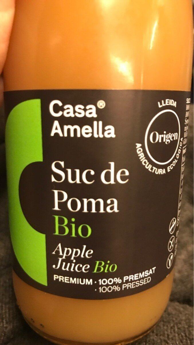 Suc de poma Bio - Produit