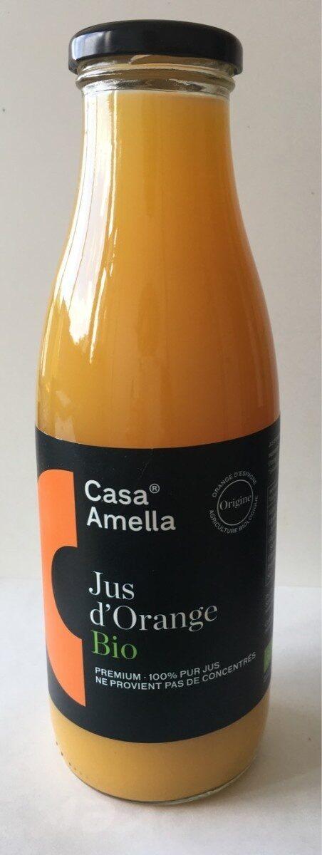 Jus d'orange BIO  100% pur jus - Produit - fr
