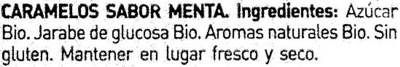 Caramelos sabor menta - Ingredientes - es