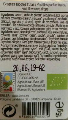 Gluten Free Organic - Ingrediënten