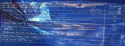 Filipinos Chocolate de Leite - Informations nutritionnelles - en