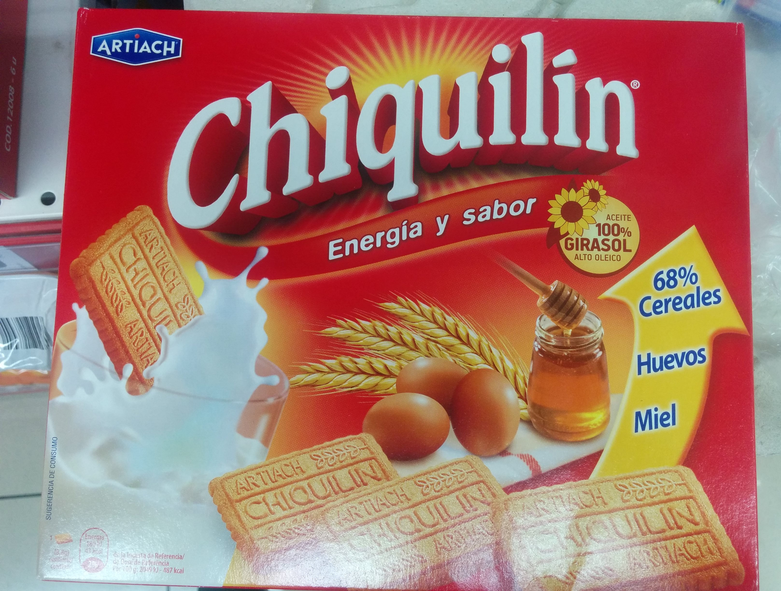 Chiquilín - Ingredientes