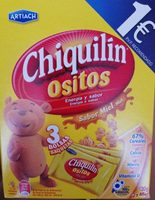 Chiquilin ositos sabor miel - Producto - fr