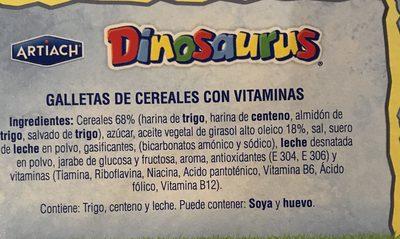 Dinosaurus - Ingredients