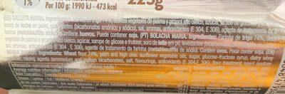 Marbú dorada - Ingrédients