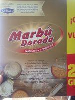 Marbu dorada - Producte