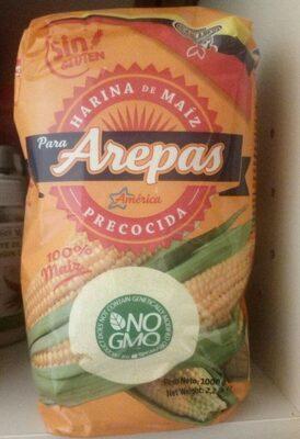 Harina de maiz precocida - Producto