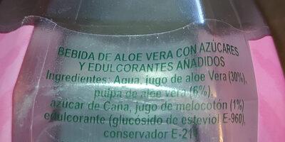 Tesoro natural Aloe Vera light - Ingredients - es