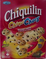 Galetes Chiquilin Chiquichocs - Producto