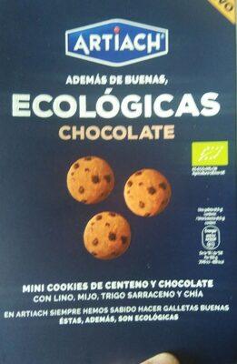 Mini Cookies de Centeno y Chocolate - Producto